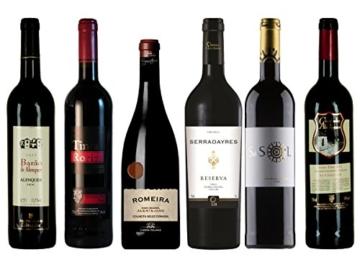 """Rotwein Probierpaket """"Preisknaller aus Portugal"""" trocken (6x 0,75 l) -"""