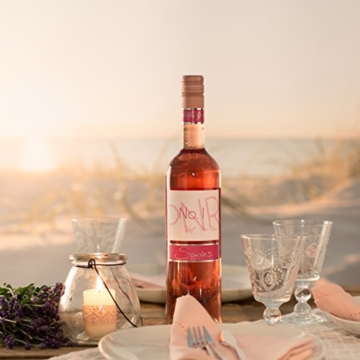 Sander's Selection No. 1 Pinot Noir Rosé, feinherb-fruchtiger Spätburgunder (6 x 0,75 l) -