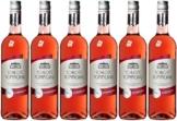 SchlossSommeraualkoholfreierRoséwein lieblich (6x 0.75 l) -