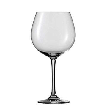 Schott Zwiesel 106227 Burgunder Classico 140 Rotweinglas, Bleifreies Kristallglas, transparent, 11.6 x 11.6 x 23 cm, 6 Einheiten -