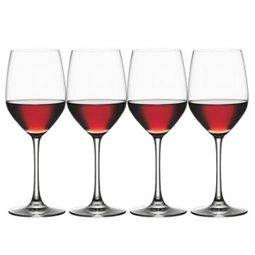 Spiegelau & Nachtmann, 4-teiliges Rotweinglas Set, Kristallglas, 424 ml, Vino Grande, 4510271 -