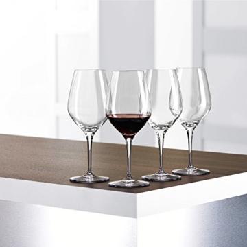 Spiegelau & Nachtmann, 4-teiliges Rotweinglas-Set, Kristallglas, 480 ml, Authentis, 4400181 -