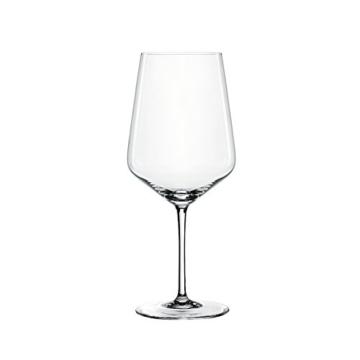 Spiegelau & Nachtmann, 4-teiliges Rotweinglas Set, Kristallglas, 630 ml, Style, 4670181 -