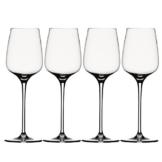 Spiegelau & Nachtmann, 4-teiliges Weißweinglas-Set, Kristallglas, 365 ml, Willsberger Anniversary, 1416182 -