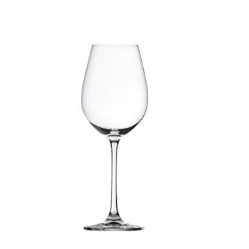 Spiegelau & Nachtmann, 4-teiliges Weißweinglas-Set, Kristallglas, 465 ml, Salute, 4720172 -