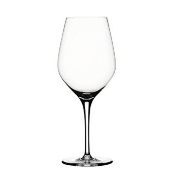 Spiegelau & Nachtmann, 4-teiliges Weißweinglas-Set, Kristallglas, Klein, 360 ml, Authentis 4400183 -