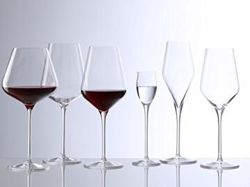 Stölzle Lausitz 231 00 03 Quatrophil Weißweinglas 404 ml, 6-er Set -