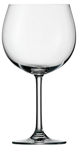 Stölzle Lausitz Burgunder Rotweingläser Weinland, 650ml, 6er Set, spülmaschinenfeste Burgundergläser, bauchige Rotweinballons -
