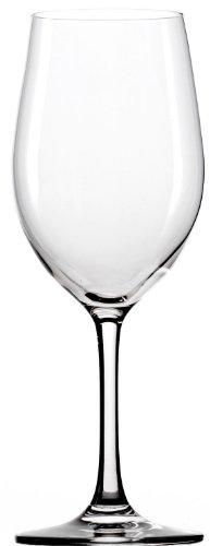 Stölzle Lausitz Classic Weißweingläser 370ml, 6-er Set, spülmaschinenfest -