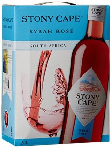 Stony Cape Syrah Rosé Südafrika Syrah trocken Bag-in-Box (1 x 3 l) -