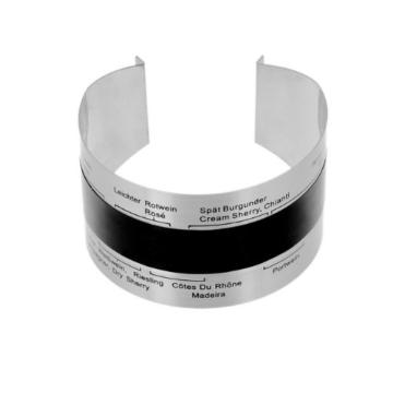 TCHIBO Clip-Weinthermometer, Flaschenthermometer, Wein-Thermometer -