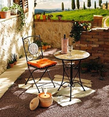 Terracotta-Weinkühler mit Unterteller -