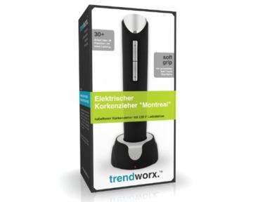 Trendworx 5182 Elektrischer Korkenzieher