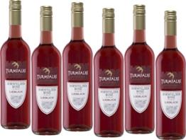 Turmfalke Dornfelder rosé Qualitätswein  (6 x 0.75 l) -