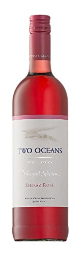 Two Ocean Shiraz Rosé Vineyards Selection 2015/2016 Trocken (6 x 0.75 l) -