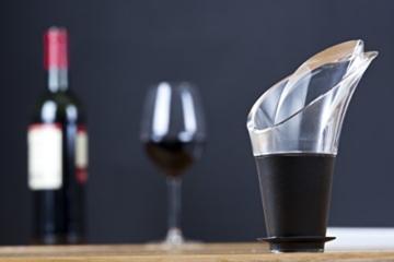 Vacu Vin 18540612 Weinausgießer 2er Set schwarz -