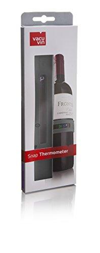 Vacu vin 3630360 Weinthermometer, Grau -