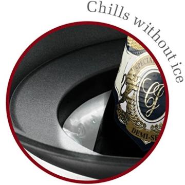 Vacu Vin - 3647360 Aktiv Champagnerkühler Elegant Edelstahl -