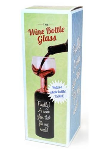 Wein Flaschen Glas - Wine Glass Bottle -