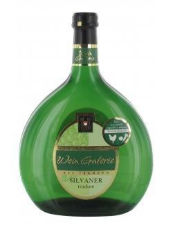 Wein Galerie Silvaner Weißwein trocken 0,75 l -