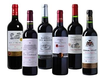 Wein Probierpaket Bordeaux Trocken (6 x 0.75 l) -