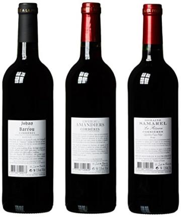 Wein Probierpaket Das Beste aus Corbières (6 x 0.75 l) -