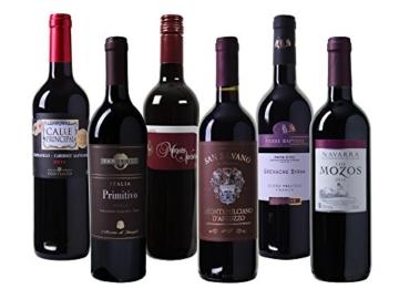 Wein Probierpaket für Rotweingenießer trocken (6 x 0.75 l) -
