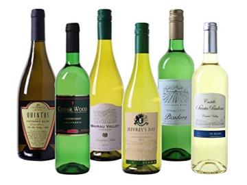 Wein Probierpaket Weißweine aus der neuen Welt trocken (6 x 0.75 l) -