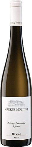 Weingut Markus Molitor Riesling Spätlese Trocken Zeltinger Sonnenuhr 2014 (1 x 0.75 l) -