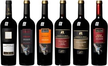 "Weinpaket: 6er ""Italiens Freuden"" (6 x 0.75 l) -"