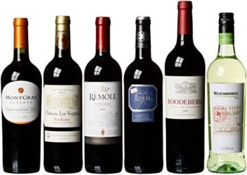 """Weinpaket """"Weine aus aller Welt"""" - Rotwein und Weisswein (6 x 0.75 l) -"""