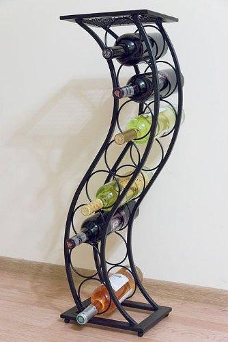 Weinregal Blumensäule Elegance 80cm Flaschenständer Flaschenhalter Blumenständer -