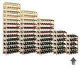 """Weinregal / Flaschenregal System """"Simplex"""" Modell 1, für 20 Fl., Holz, Kiefer natur -"""