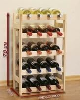 Weinregal für 20 Flaschen -