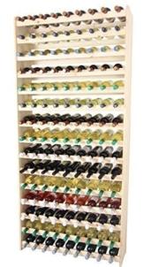 Weinregal Weinregal Holz Flaschenregal für 135 Flaschen !!!!! Massiv-135 -