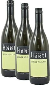 Weißwein Grüner Veltliner Qualitätsbiowein Burgenland 2015 Trocken (3 x 0.75 l) -