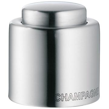 WMF Sektflaschenverschluss Clever & More Cromargan Edelstahl matteirt -